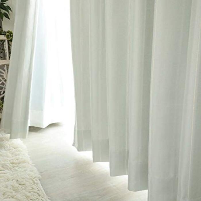 グラムスタイル 日本製 遮光 カーテン ホワイト