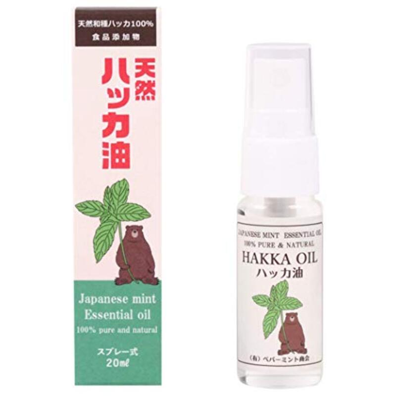 日本製 天然ハッカ油スプレー20ml
