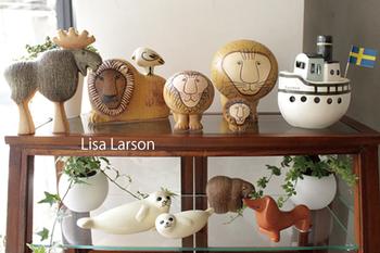 リサ・ラーソンの置物はコレクションしている方も多い人気のアイテムです。たくさん集めて飾るのも良いですね。