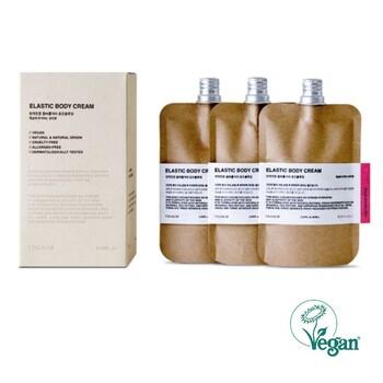 ヴィーガン認証の成分にこだわったボディクリーム。パッケージもキャップ以外はプラスチックを使用していないエシカルコスメなんです。ベタつかずに馴染んでくれるので、季節を問わず心地良い使用感です。