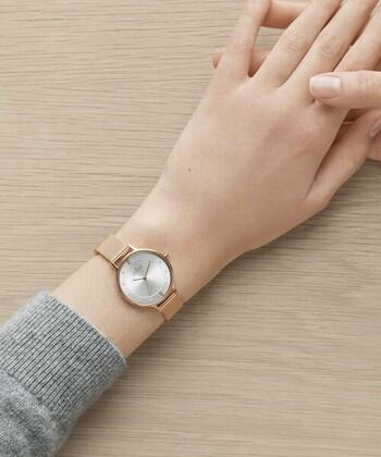 デンマークで創業した「SKAGENスカーゲン」は、機能性と洗練されたデザインが魅力のブランド。北欧ならではのスタイリッシュなデザイン、ぬくもり感じさせる女性らし色使い。シーンを選ばず使いやすい、素敵な腕時計が揃います。