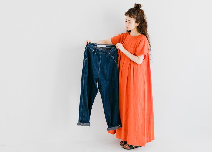 年齢問わずきれいに穿ける*着回し自在のグッドバランスデニム集