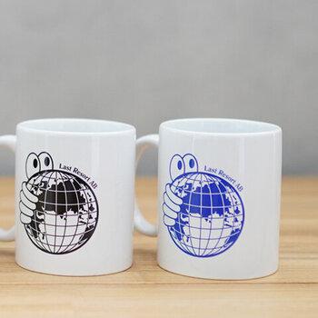 スウェーデンのスケートシューズブランドのロゴマグカップ。「Last Resort AB(ラストリゾートエービー)」のキャラクターやユニークなプリントがデザインされたロゴカップは、デスク周りを楽しい雰囲気にしてくれます。