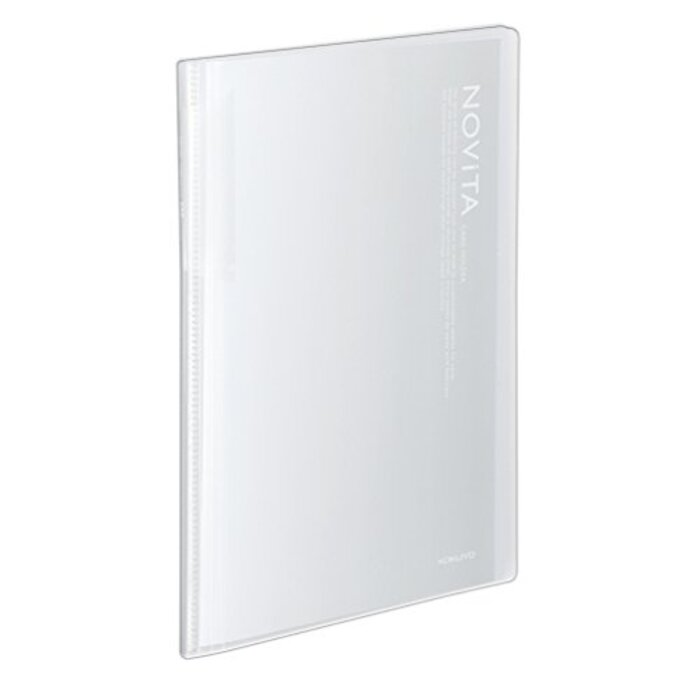コクヨ 名刺ホルダー カードホルダー ノビータ A4 30枚 600名収容 透明 メイ-N260T