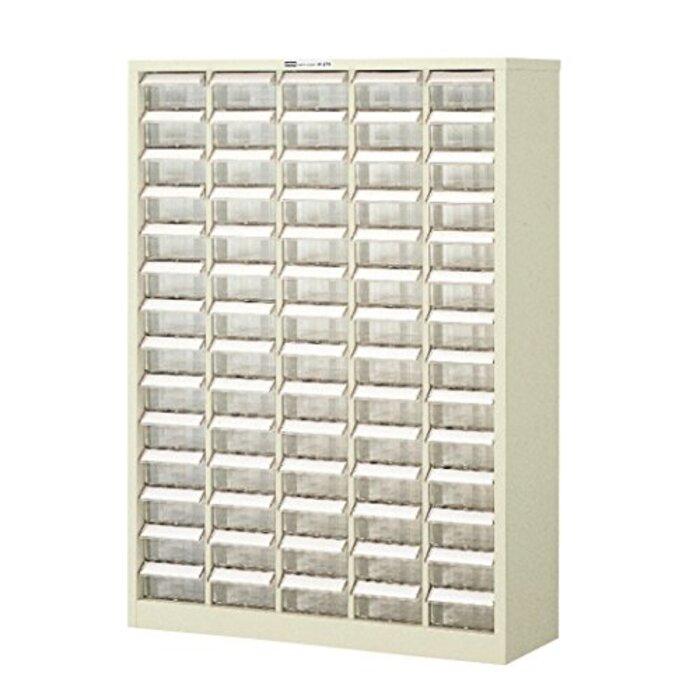 ホーザン(HOZAN) パーツキャビネット 部品ケース 引出しストッパー付 引出し70個 見出しカード、転倒防止用金具付 B-415