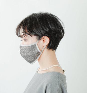 マスク生活に華を添える。パッと目を惹く「ネックレス」カタログ