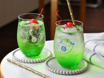 冷たいドリンクが美味しい季節に。氷が映える「涼しげグラス」カタログ