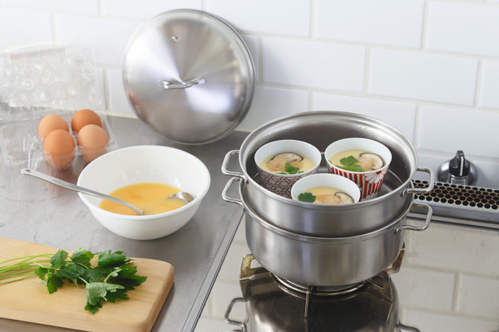 ヘルシー調理におすすめの「蒸し器」&代用アイデア・活用レシピ