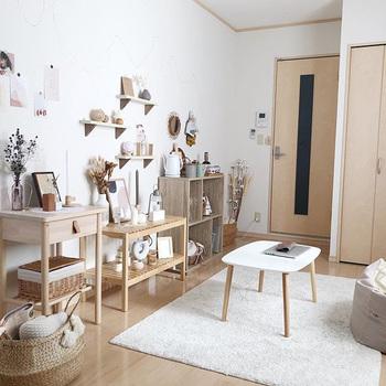 同じ量の家具を置く場合でも、どこにどう置くかによって、お部屋の印象は大きく変わります。また、動線もしっかり考えておかないと、お部屋の中で無駄な動きをすることになってしまいますよね。