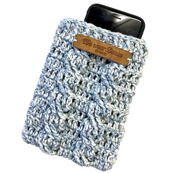 縫物よりも編み物の方が好き♪という方には、編むタイプも。毛糸の種類で季節感が出るので、渡す時期に合わせた雰囲気の糸を選んでみてくださいね。