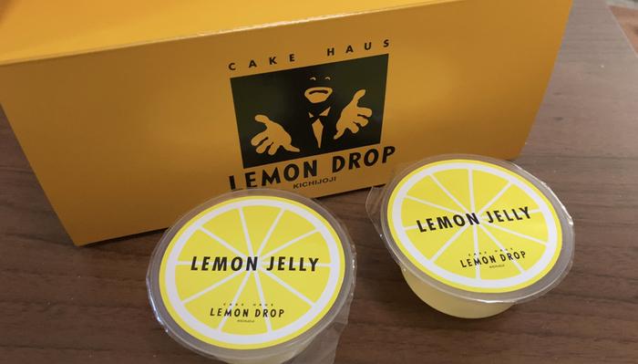 キュートなパッケージがかわいらしい「レモンゼリー」。瀬戸内産の国産レモンをたっぷり使っていてさっぱりしていますよ。暑い日のリフレッシュにいかがですか?