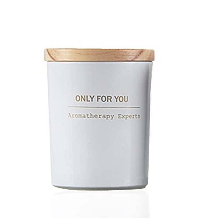 木製のふたカップの香りのキャンドルギフト
