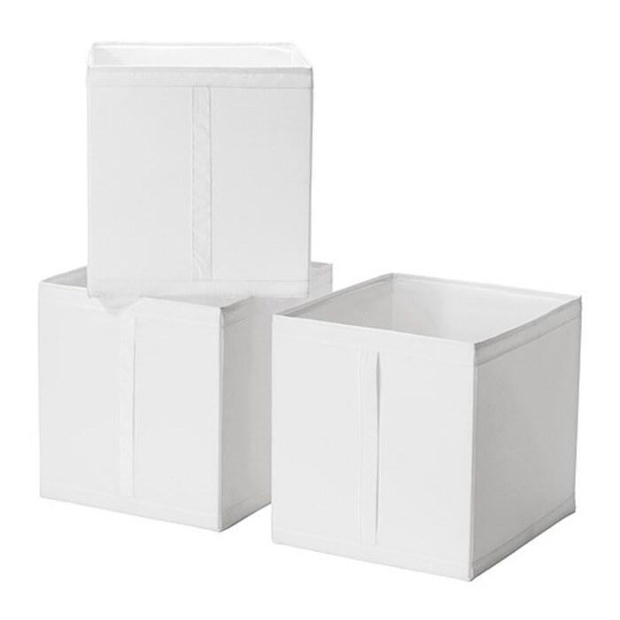 【人気商品】 IKEA(イケア) SKUBB スクッブ  ボックス 3ピース