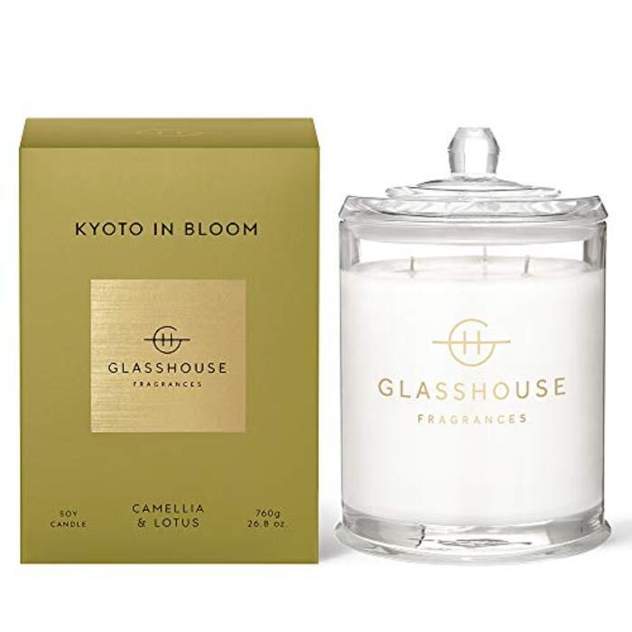 GLASSHOUSE グラスハウスキャンドル アロマキャンドル (キョウト)