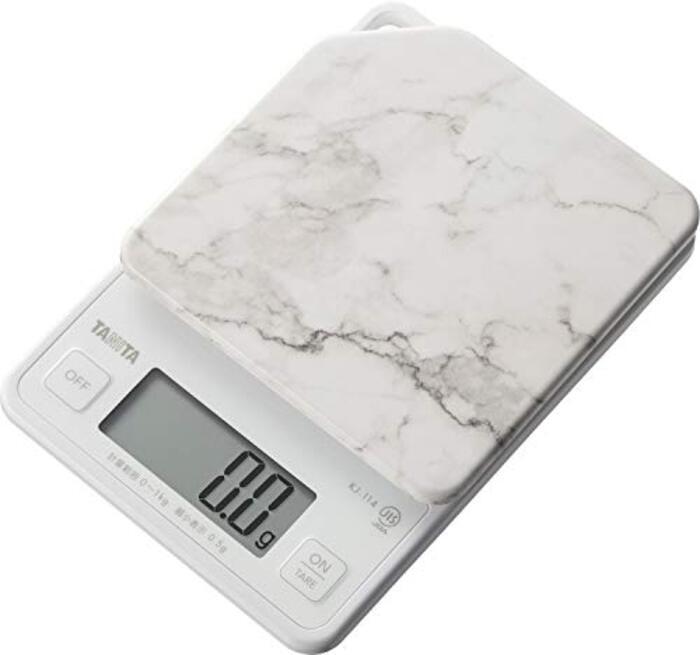 タニタ クッキングスケール キッチン はかり 料理 デジタル 1kg 0.5g単位