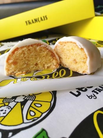 「レモンケーキ」はモンドセレクションを受賞したこともある逸品。こちらは日持ちするので、手土産にもおすすめですよ。