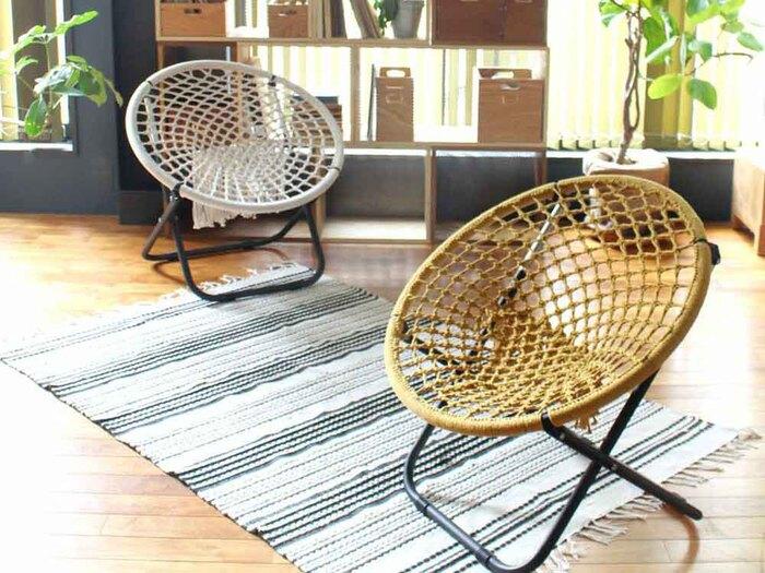 おしゃれな「折りたたみ椅子」が大集合!軽量でコンパクトな《21選》