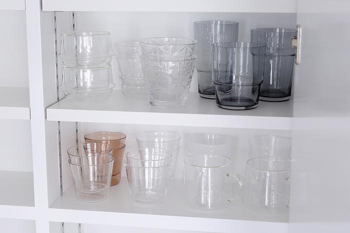 取り出しやすく見た目も◎「グラス」の収納アイデアをご紹介!