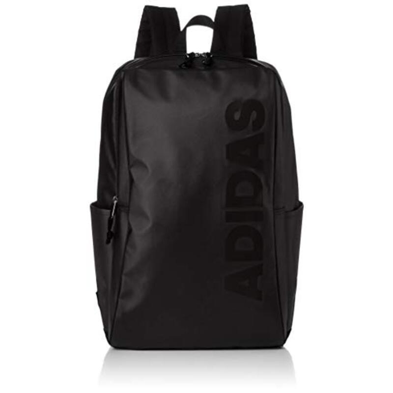 [アディダス] リュックサック MODEL.NO.57571 19L B4サイズ収納可 ウィメンズ スクエアフォルム ブラック/ブラック