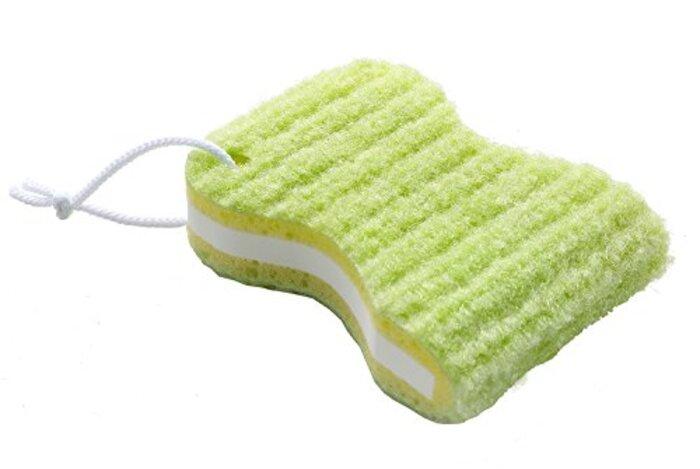サンコー  びっくりフレッシュ ゴシゴシ洗濯クリーナー グリーン 日本製