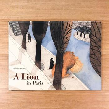 ベアトリーチェ・アレマーニャ(TATE 2014年)  イタリアのボローニャで生まれたアレマーニャは、パリ在住の絵本作家。どことなく、モディリアーニのようなイタリア風色使いを感じさせます。こちらは英語版ですが、元々はフランスの出版社からフランス語で出版されています。文字がほとんどなく、絵を見るだけでも十分楽しめますよ。