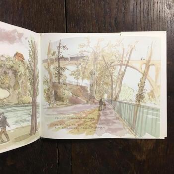「こころにとってかけがえのないものに、いつもなまえがあるとはかぎらない」。  スイス人作家マルタンゲが綴る、祖父と孫の対話物語。フランス人絵本作家デュマのラフな水彩画が、深く静かに続いていく対話に、美しい風景を与えています。子どもにも読み聞かせたくなる、心にぐっとくるストーリーです。