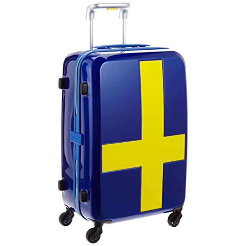 [イノベーター] スーツケース INV55T 50L ブルーイエロー