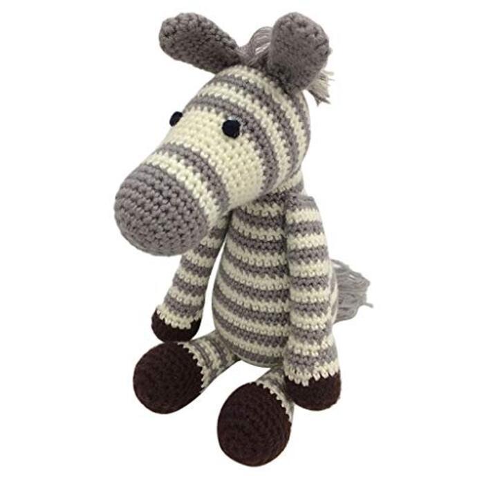 aeso ゼブラ人形 あみぐるみ かぎ針編みキット