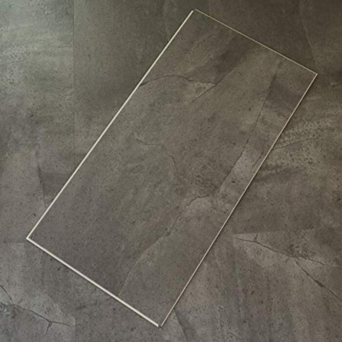 フロアタイル (ストーン S004) 置くだけ はめ込み 接着剤不要 床暖房対応 9枚セット