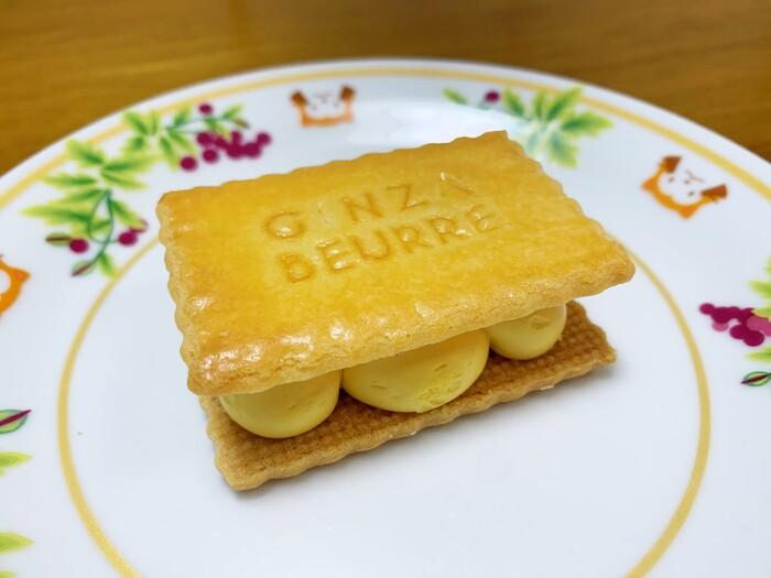 マンゴー風味のバタークリームが今までにない味わい♪マンゴーならではの爽やかな後味を、ぜひ体験してみてください◎