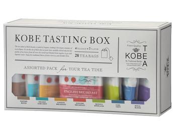 7種類の紅茶が詰め合わせになったアソート。様々なフレーバーで飽きさせず、日本人が飲みやすいように日本の水に合わせて茶葉を厳選しているところも嬉しいポイントです。  ・972円(税込)