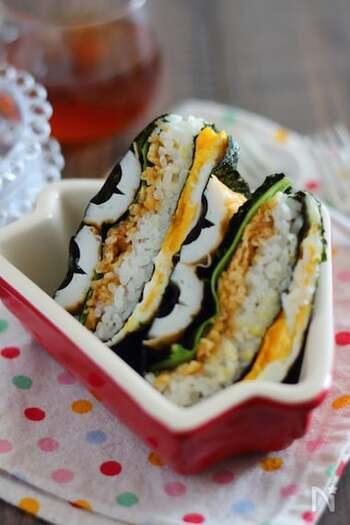 ちくわは天ぷらにしなくても、天かすに めんつゆを合わせて混ぜたものと一緒に折りたたむだけで、子どもも大好きなちくわの天ぷら風に。大葉の風味もよく、子どもからご年配の方までおいしくいただけます。