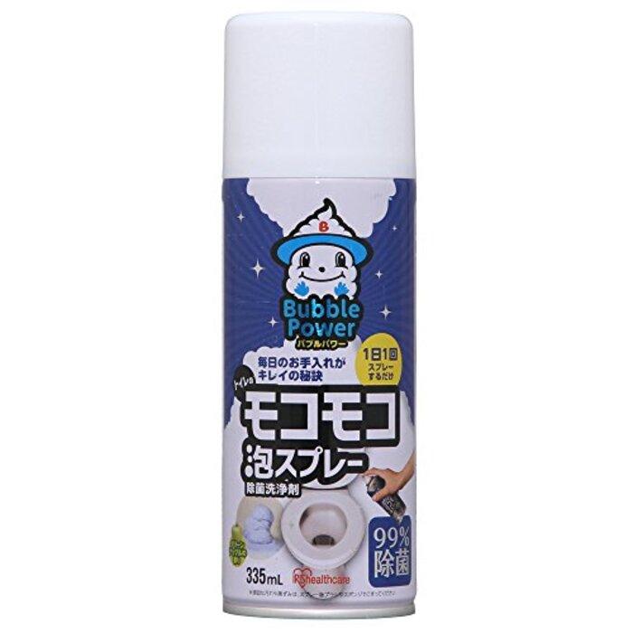 アイリスオーヤマ 洗浄剤 トイレ用 モコモコ泡スプレー 335ml BP-MA335