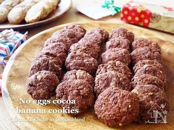 今日はちょっと暇だね~なんていうお休みの日に、サッとつくれるクッキーレシピ。お子さんと一緒に作る時にも、ママの準備やお片付けが簡単なのも嬉しいですね。