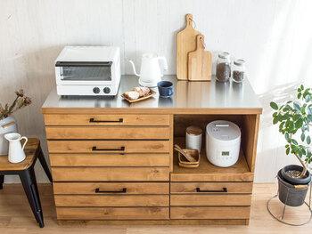 おしゃれな実例つき!4つのタイプで選ぶおすすめ「炊飯器収納」6選