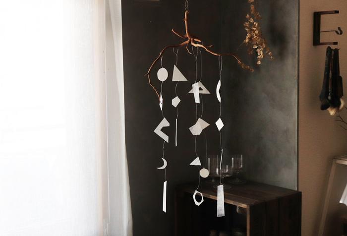 モビールを吊るしておしゃれ空間に♪手作りキット&DIYアイデア集