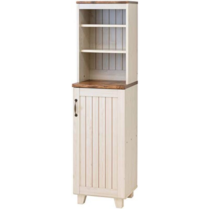 キャビネット ハイキャビネット 食器棚 本棚 幅40 奥行40 高さ151