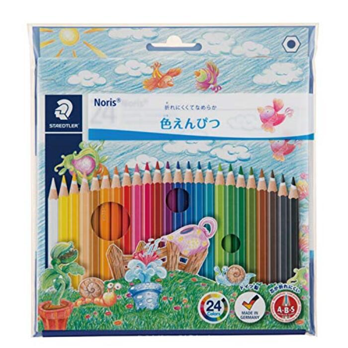 ステッドラー 色鉛筆 24色 油性色鉛筆 ノリスクラブ 144 NC24P