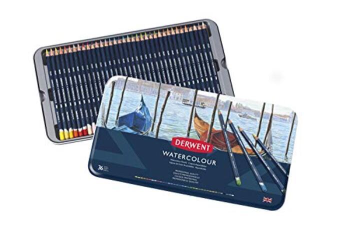 ダーウェント 水彩 色鉛筆 ウォーターカラーペンシル 36色セット