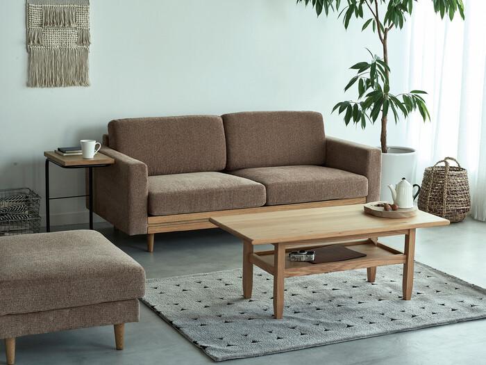 ●サイズ…約200×140cm ・洗濯機使用可能(洗濯ネット使用) ・防ダニ加工付き ・床暖房・ホットカーペット対応  日本の家具ブランド「SIEVE」のラグ。北欧を思わせるナチュラルでモダンなデザインに、便利な機能性を兼ね備えています。ベージュ・ネイビー・グレーの3色展開。
