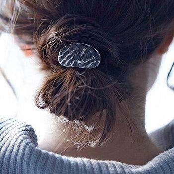 爽やかで好印象*夏向けヘアアクセサリー&簡単まとめ髪アレンジ