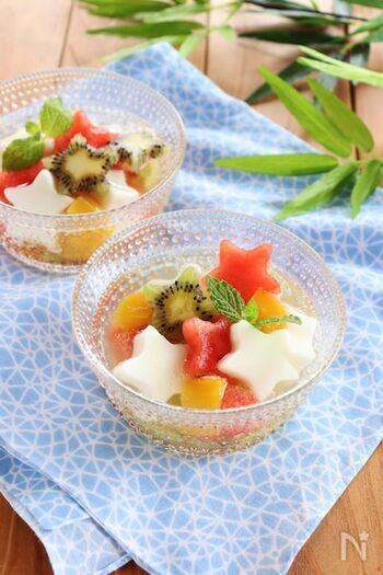 夏にぴったり「フルーツポンチ」作り方と人気アレンジレシピ30選