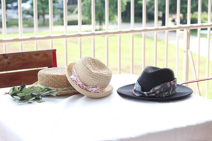 ざっくりでも可愛い。手作り麦わら帽子に挑戦しよう
