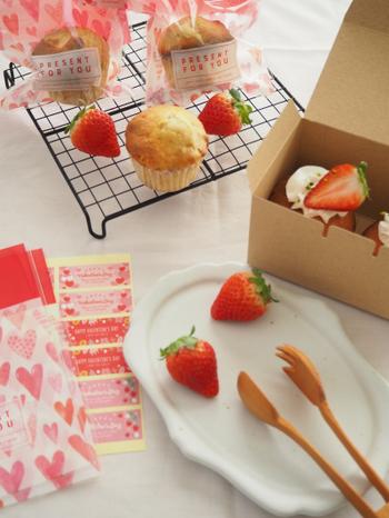 誰かにプレゼントしたくなる♪可愛くて美味しい【カップケーキ】レシピ