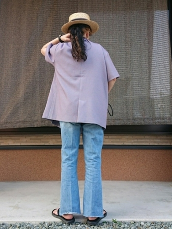 何色を着る?【半袖ジャケット】でつくる新鮮な夏コーデ