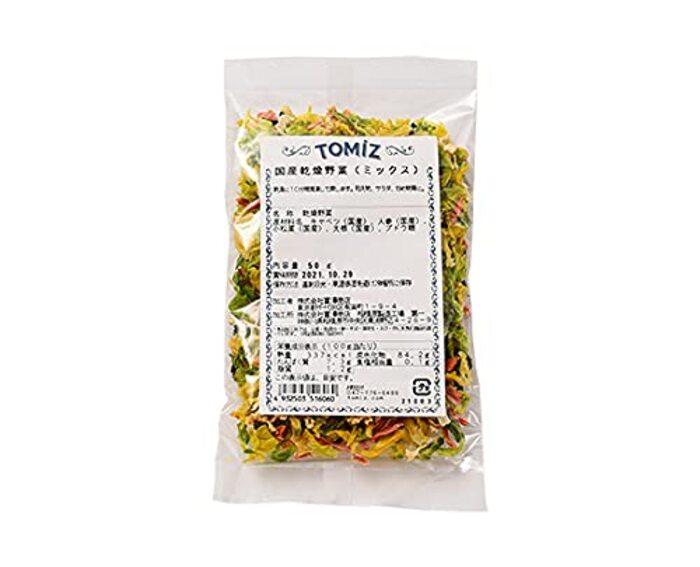 TOMIZ(創業102年 富澤商店) 国産乾燥野菜(ミックス)
