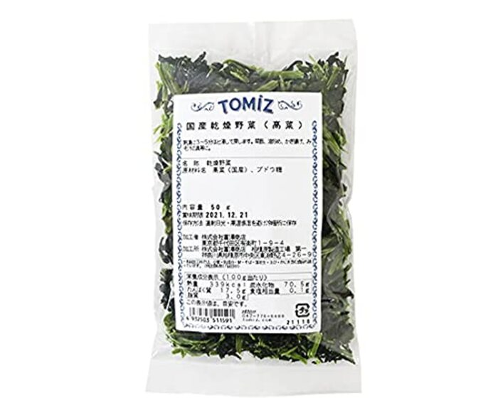 TOMIZ(創業102年 富澤商店)国産乾燥野菜(高菜)