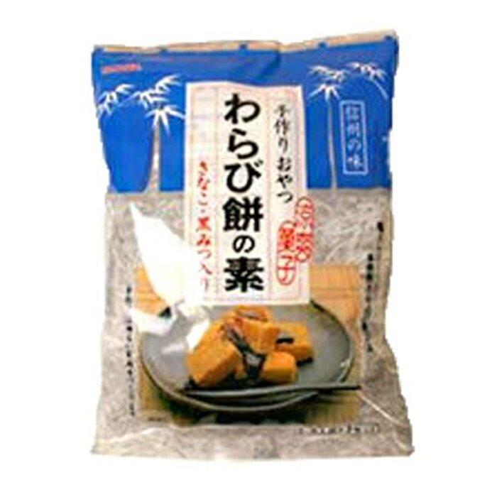 伊那食品 かんてんぱぱ わらび餅の素 585g 黒みつ きなこ