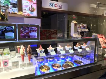 「sno:la(スノーラ)」はビバリーヒルズ生まれのオーガニックヨーグルトメーカーです。日本では銀座三越の地下と京都に店舗があります。
