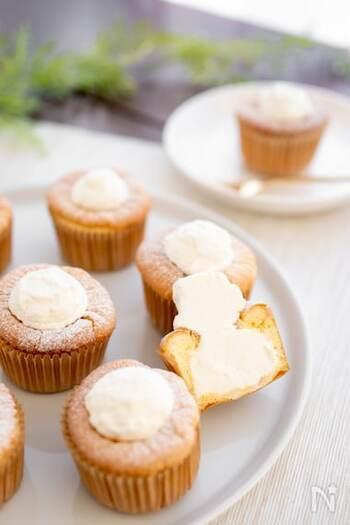 ふわふわ食感で至福の時間を。『濃厚生シフォンケーキ』の作り方。